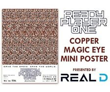 READY PLAYER ONE Magic Eye Series COPPER KEY Exclusive Real-D POSTER 18x24
