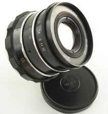 SERVICED! INDUSTAR-61 L/D 55mm f/2.8 Lens M39 with Adapter Micro M 4/3 MFT Mount