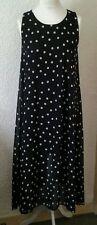 Petite Sleeveless Spotted Full Length Dresses for Women