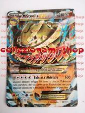 MEGA STEELIX EX ( MSTEELIX ) - RARA HOLO FOIL 68/114 - POKEMON - ITALIANO