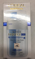 L'oreal White Perfect Double Eye Zone Brightener 15ml - New & Sealed