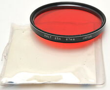 KALT 67mm RED 25A Filter