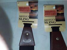 2 new Hunter shotgun slings neoprene with leather tip