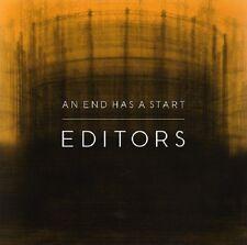 EDITORS An end has a start - CD