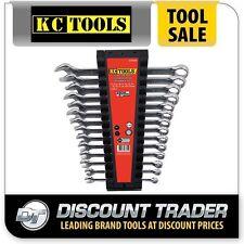 KC Tools Combination Spanner Set 14 Piece Metric - A13345