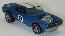 Redline Hotwheels Blue 1970 Heavy Chevy  oc10528