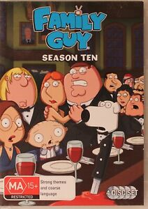 Family Guy DVD - Season Ten 10 - Free Post