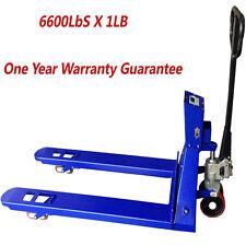 SAGA Pallet Jack Scale 6600lb X 1lb W/Indicator Pallet Truck Scale Pallet Scale
