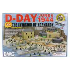 World War II D-Day Invasion of Normandy Playset 114 Pieces 54mm Scale