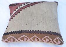 Emvency Throw Pillow Cover, Türkisches Kelim Kissen, Square Cushion 16''x 16''