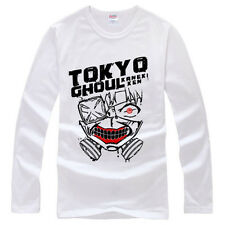 Anime Tokyo Ghoul Cotton T-Shirt Long Sleeve T Shirt Spring Autumn Clothing New