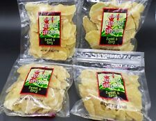 Trader Joe's Crystallized Candied Ginger Dried Fruit  4 Bags Total 2 LBS 🌺