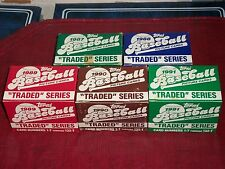 1987, 1988, 1989, 1990, 1991 TOPPS COMPLETE FACTORY TRADED SETS