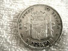 Silber Münzen aus Spanien