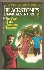 BLACKSTONE'S MAGIC ADVENTURE 3 The Case Of The Phantom Treasure  Signed Harry Jr
