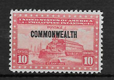 PHILIPPINES , USA , 1936/37 , COMMONWEALTH , 10c STAMP O.P.  PERF, VLH