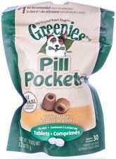 Greenies Dog Pill Pockets for Tablets, 30 Count - perfect for concealing tablet