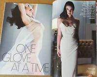Vanity Fair Magazine Dita Von Teese Friends Jennifer Aniston Karl Lagerfeld