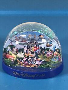 Disney Parks Walt Disney World Mickey & Friends Icon Glitter Snowglobe