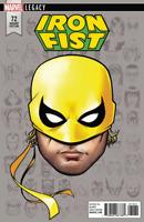 IRON FIST #73 MCKONE HEADSHOT VARIANT MARVEL LEGACY COMICS