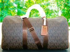 New MICHAEL KORS Signature XL Travel Duffle Bag weekender $458