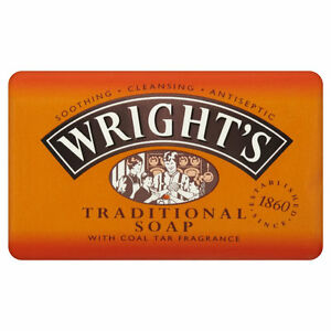 1 x Wright's Coal Tar Traditional Soap 125g