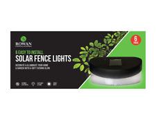 6 Luces De Pared Valla de Jardín Solar-Joya (paquete de 6)