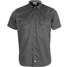 Dickies Manga Corta Camisa De Trabajo Hombre ws576 Slim Fit