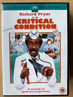 Richard Pryor Joe Dallesandro CRITICAL CONDITION ~ 1987 Doctor Comedy | UK DVD
