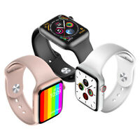 Smart Watch for iPhone iOS Android LG Bluetooth ECG Heart Monitor Waterproof US