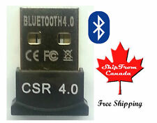 High Speed Bluetooth 4.0 Adapter - CSR Wireless USB Dongle - Fast Shipping