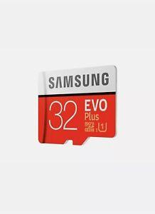 SAMSUNG Grade EVO Class 10 Memory Card 32GB Micro SD Card
