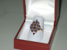 On Sale Now* 10K Gold 2.45ctw Amethyst Ring 3.1 grams Size 6.75
