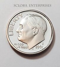 1991 S ROOSEVELT *PROOF* DIME **FREE SHIPPING**