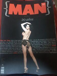 Revista Man 20 Aniversario