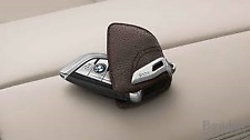BMW Genuine Mocha Leather Key Holder F15 X5 F16 X6 G01 X3 F45 82292408819