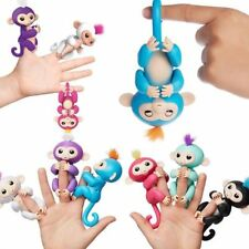 Electronic Smart Interactive Happy Baby Monkey Toys Finger Pet Puppets Kids