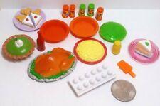 Barbie Vintage Food Lot Thanksgiving 18 Items Turkey Key Lime Pie + More