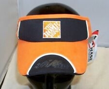 CHASE #20 HOME DEPOT BLACK AND ORANGE PIT VISOR HAT CAP TONY STEWART NWT 14