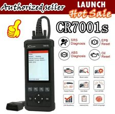 ABS SRS Car OBD2 EOBD Scanner Airbag Scanner Diagnostic Scan Tool launch CR7001S