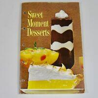 1965 Sweet Moment Desserts Cookbook Jello Pudding Dream Whip General Foods VTG