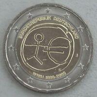 """2 Euro Deutschland J 2009 """"10 Jahre WWU"""" unz"""