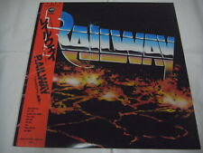 RAILWAY-same JAPAN 1st.Press w/OBI Accept U.D.O. Scorpions Judas Priest Sinner