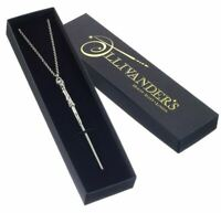Harry Potter Wand Replica Necklace Pendant - Boxed Silver Plated Carat