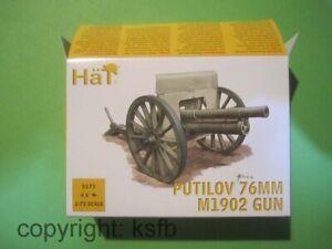 1:72 HäT 8173 WKI Rußland 4x russische Putilov 76mm M1902 Kanone Geschütz Armee