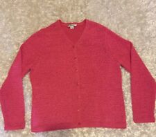 Pendleton Womens Cardigan Sweater Button Front Cotton/ polyester Sz petite M