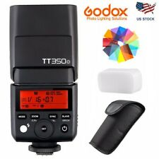 US Godox TT350O 2.4G TTL HSS Camera Flash Speedlite For Olympus Panasonic Camera