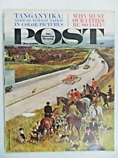 Saturday Evening Post Magazine  December 2,1961  John Falter  VINTAGE ADS