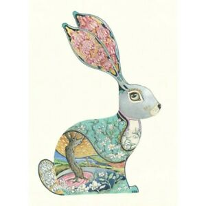 Bunny Rabbit Blank Greeting Card Birthday Any Occasion The DM Collection