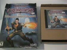 Crusaders of Might and Magic PC game big box complete CD-ROM 3DO